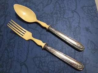 純銀古董分餐匙