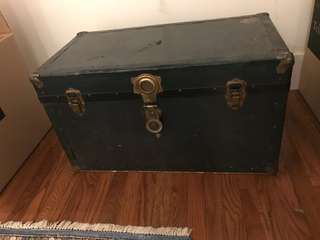 Langmuir Antique steamer chest