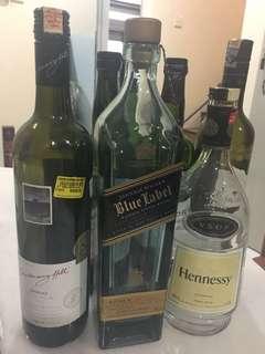 Artistic work - Wine bottle