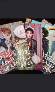 2PM GO CRAZY POSTER