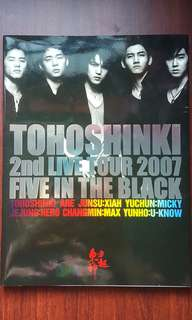 TVXQ Photobook-FIVE IN THE BLACK(non-official)