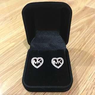MK Rose Gold Earrings