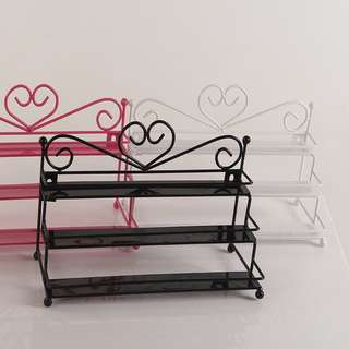 Metalc makeup/nail polish organizer available in 3 colors
