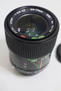 Centon 28-70mm Macro Zoom lens 變焦鏡頭