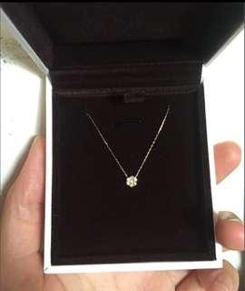 18k 鑽石項鍊