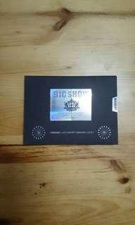 🚚 BIGBANG 2010演唱會(書+DVD2片)