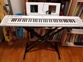 Yamaha Piaggero NP-32 Portable Keyboard (76 keys)