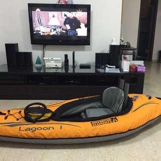Active elements lagoon inflatable kayak