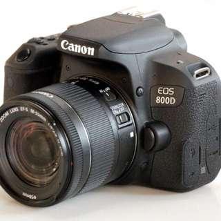 Canon EOS800D 18-55kit 原裝行貨12個月原廠保用