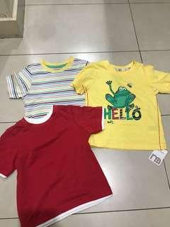 Brand New Mothercare Set of 3 Shirt