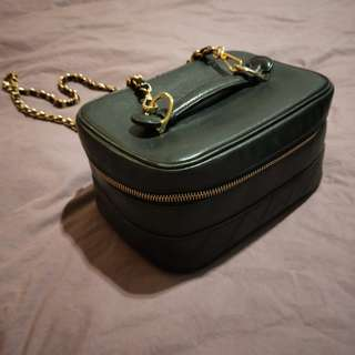 Chanel Vintage Cosmetic Chain Bag (sale)