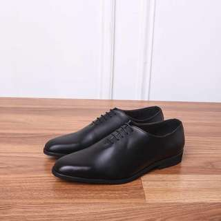 Sepatu Formal Pantofel Kerja Hitam Heiden Allure Wholecut