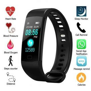 Y5 Fitness Tracker(Hot Sell..Latest Model)Smart watch