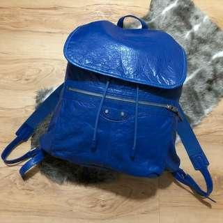 Balenciaga Backpack Electric Blue