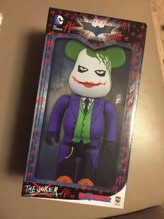 The joker bearbrick 400% 小丑
