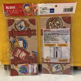 Hello Kitty Traveling Document Ticket Folder