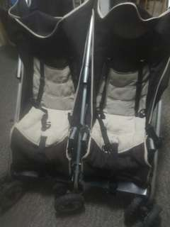 Giving Away Price! Britax Steelcraft Duo Twin Stroller