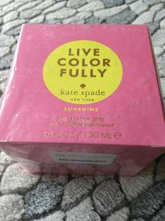 Authentic Kate Spade Live Colorfully Sunshine