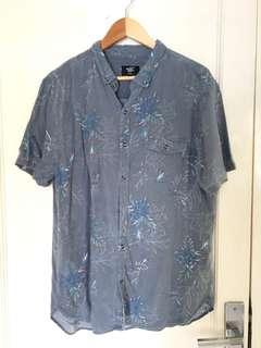 COTTON ON Hawaii Shirt Kemeja Pantai