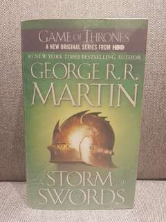 George R.R. Martin: A STORM OF SWORDS