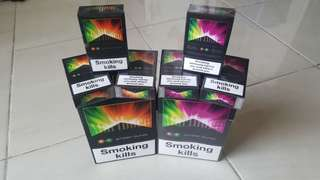 Marlboro Purple Burst & Orange Burst