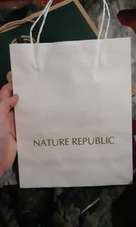 Paperbag nature republic paper bag