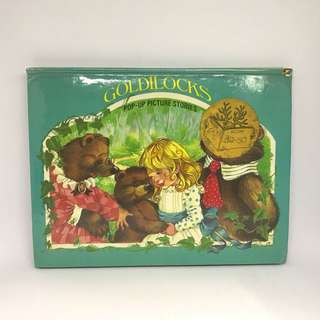 Goldilocks and the Three Bears Pop Up Picture Stories