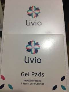 Livia + 6 Sets of Gel Pads (Brand New)