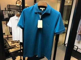 Burberry 男士格紋開襟珠地網眼棉質 Polo 衫,S-XXL碼,特低折扣 $1790 保證100%Real