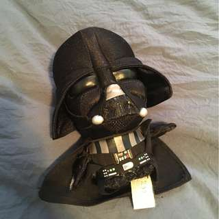 Darth Vader soft toy with voice/sounds