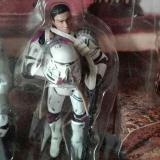 "Star Wars 187th Legion Corps Clone Commander Purple Battalion aka Airborne Air Borne Trooper Sharpshooter 3.75"" 3 3/4 inch figure Hasbro TRU"