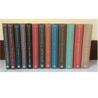 A Series of Unfortunate Events by Lemony Snicket/Daniel Handler