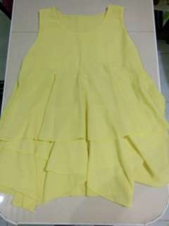 Yellow Top (Sleeveless)