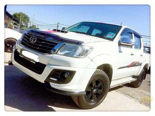 Toyota hilux TRD 2013