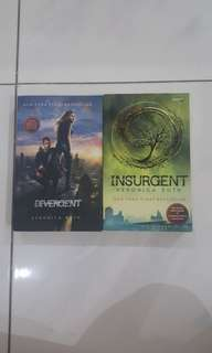 NOVEL TERJEMAHAN THE DIVERGENT AND THE INSURGENT
