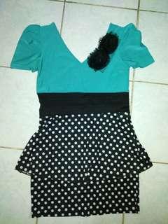 Teal Formal dress