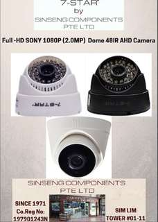 {WHOLESALE}CCTV-2MP Full-HD SONY 1080P 4 in 1 OSD(AHD/TVI/CVI/CVBS/ANALOG/IP-960H/720P/960P/1080P) Indoor-Outdoor (Dome/Bullet/Tube) Security Surveillance CCTV Smart IR Day & Night Camera (7-STAR*)