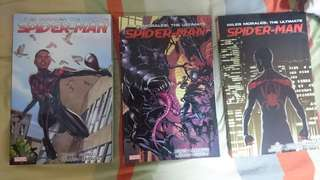 Miles Morales Spider-man Ultimate Collection vol 1 to 3