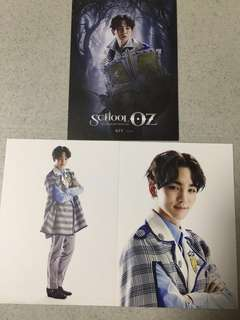 SHINee Key School OZ hologram musical official postcard set