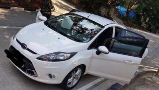 2011 Ford Fiesta (White) 1st Owner