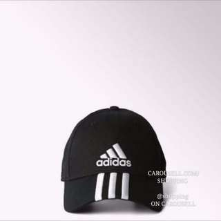 🚚 Authentic Adidas 3 Stripe Embroidered Baseball Cap