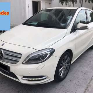 2014 Mercedes B200 Local Spec