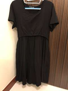 [Preloved] Jump Eat Cry Maternity Dress