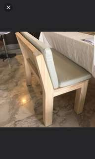 Dining Table Set with 2 benches
