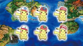 Pikachu Cap event pokemon