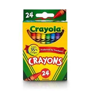 BN 24 Pcs Crayola Crayon