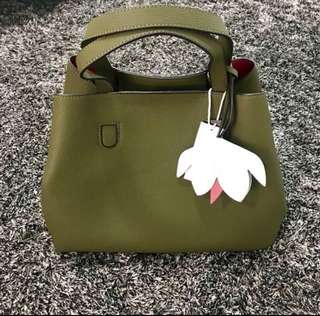 CMG Olive Green Bag