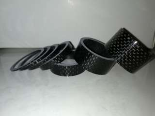 Carbon spacer 1,2,3,5,10,15,20mm