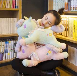 Unicorn plushie stuff toy