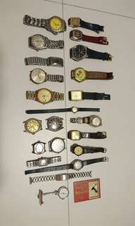 RARE Vintage Watches Time piece